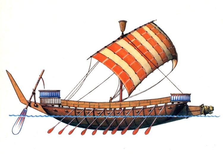 Финикийский корабль